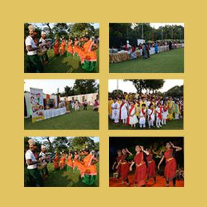 Event in P.C Chandra Garden